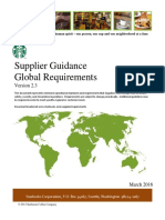 Starbucks Supplier Global Reference Ver. 2.3