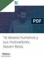 16 Deseos Humanos y Sus Motivadores (Steven Reiss)