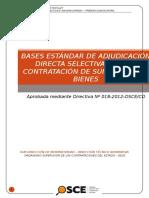 Bases Estandarizadas Combustible Huayllay 2015