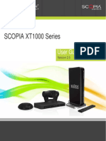 User Guide Scopia Xt1000 v2.5