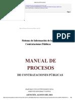 Manual de Procesos - DNCP 2013