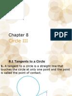 Chapter 8 Circle III