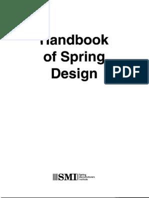 Spring Design Handbook Pdf