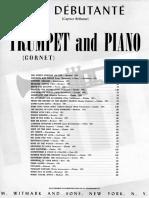 Clarke the Debutante Cornet Piano