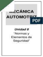 Mecánica Automotriz - Unidad 8