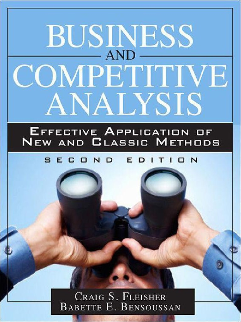 Principles of competitive intelligence intelligence analysis principles of competitive intelligence intelligence analysis business model fandeluxe Images