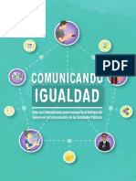 Guía Comunicando Igualdad
