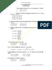 RPET 2009 Mathematics 2