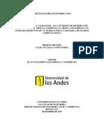 Modelación de La Calidad Del Agua en Redes de Distribución de Agua Potable Mezcla Completa vs. Mezcla Incompleta en Nudos