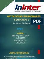 SEMINARIO 6 - PATOLOGIAS PULMONARES.pptx