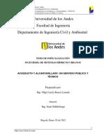 Acueducto y Alcantarillado Un Servicio Público y Técnico