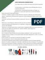 Prevención y Protección de Riesgos Fisico1