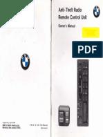 BMW Radio Manual
