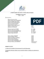 Compte Rendu Réunion Conseil Pédagogique Du 24 Mai 2013