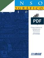 Censo Indígena IBGE 2010