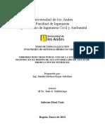 Errores Inducidos Por El Uso de La Ecuación de Manning en El Diseño de Alcantarillado de Aguas de Producción de Petróleo.