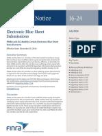 Regulatory Notice 16 24