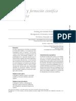 Docencia y Formación Científica Universitaria