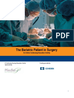The Bariatric Patient in Surgery