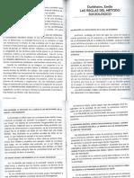 Sociología - Ppales Teorías - Durkheim