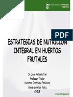 Estrategias de Nutrición Integral en Huertos Frutales