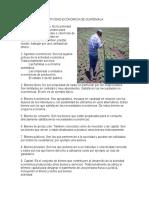 Actividad EcACTIVIDAD ECONÓMICA DE GUATEMALA  1. Actividad económica