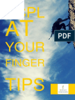 SCPL at Your Finger Tips Brochure