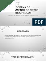 Sistema de Enfriamiento de Motor (Reciproco)