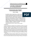 Globalization and Finance UPSC EFFECTS OF GLOBALIZTION ON INDIAN SOCIETY