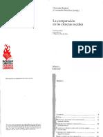 Sartori Giovanni Y Morlino Leonardo - La Comparacion en Las Ciencias Sociales