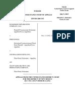 Elm Ridge Exploration Company v. Engle, 10th Cir. (2013)