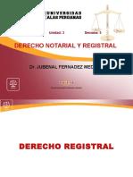 5. Derecho Registral y Sistemas