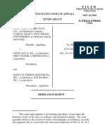 East TX Seismic Data v. Seitel Data, Inc., 10th Cir. (1999)