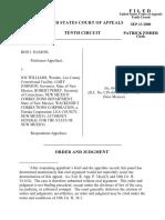 Hasson v. Williams, 10th Cir. (2000)