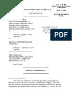 Metropolitan Denver v. Fireman's Fund Ins., 10th Cir. (2002)