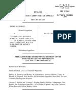 Marshall v. Columbia Lea Hosp., 345 F.3d 1157, 10th Cir. (2003)