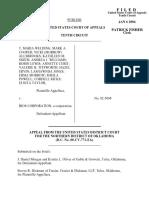 Welding v. Bios Corporation, 353 F.3d 1214, 10th Cir. (2004)