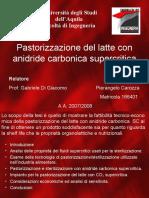 Anidride carbonica supercritica