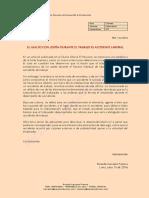 El Asalto con Lesión durante el Trabajo es Accidente Laboral - Ricardo Carrasco Francia