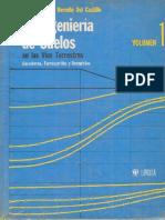 La Ingenieria de Suelos en Las Vias Terrestres Vol. 1