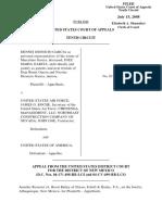 Garcia v. US Air Force, 533 F.3d 1170, 10th Cir. (2008)
