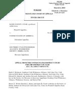 Kane County, Utah v. United States, 597 F.3d 1129, 10th Cir. (2010)