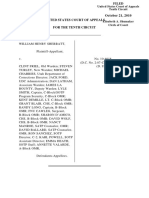 Sherratt v. Friel, 10th Cir. (2010)