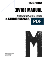 Toshiba Estudio 555-655-755-855 Service Manual