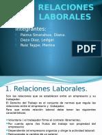 RELACIONES LABORALES diapositiva