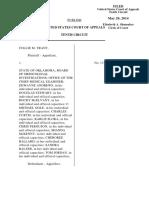 Trant v. Medicolegal Investigations, 10th Cir. (2014)