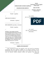 Soboroff v. Doe, 10th Cir. (2014)