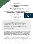 Dr. Rodrigo Ramirez and Barbara Snow v. Oklahoma Department of Mental Health, Daniel Clute, Gerald D. Goodner, Woodrow Pendergrass, Nancey Prigmore, and Bob Leflore, 41 F.3d 584, 10th Cir. (1994)