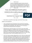 Wesley Allen Dorrough v. United States, 46 F.3d 1150, 10th Cir. (1995)