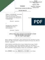Vanderwerf v. Smithkline Beecham Corp., 603 F.3d 842, 10th Cir. (2010)